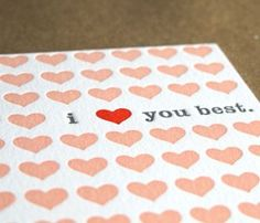 i heart you best.