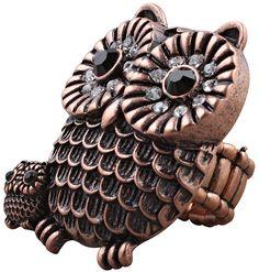 Bijou Brigitte  Ring - Two Owls