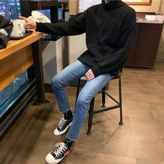 [New] The 10 Best Outfit Ideas Today (with Pictures) - which boy outfit? Korean Fashion Men, Ulzzang Fashion, Kpop Fashion, Mens Fashion, Fashion Outfits, Retro Outfits, Grunge Outfits, Trendy Outfits, Aesthetic Fashion