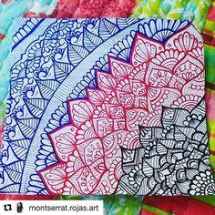 #Repost @montserrat.rojas.art   Una de mis mandalas favoritas que hice en el colegio ❤  .  .  .  .  .  .  .  .  .  .  .  .  .  #mandalas #mandala #zentangle #zentangles #montserrat_rojas_art