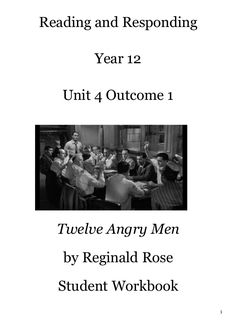 "an analysis of reasonable doubt in twelve angry men by reginald rose ""twelve angry men"" by reginald rose at ten minutes after twelve on the night of the maybe you don't understand the term ""reasonable doubt"" seven."