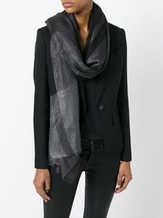 Shop designer scarves for women at Farfetch for warmth and style. Shop knitted, silky and logo scarves from Alexander McQueen, Fendi, Burberry and many more. Checked Scarf, Designer Scarves, Motif Design, Pucci, Fashion Prints, Womens Scarves, Salvatore Ferragamo, Collars, Weave