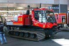 Rosenbauer zeigt den neuen Panther, Oshkosh den Striker und BMW einen elektrischen Kommandowagen - das sind die Fahrzeug-Highlights von der Interschutz!