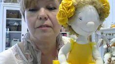 Мастер класс шитье куклы. Елена Войнатовская