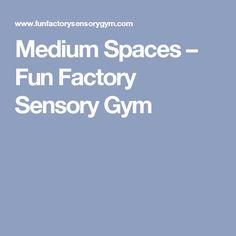 Medium Spaces – Fun Factory Sensory Gym