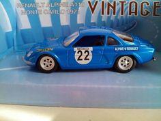 (v38) Voiture miniature 1/43 Alpine A110 Monté carlo 1971 Mondo Motors