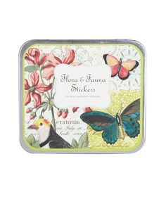 Flora and Fauna Sticker Set, Cavallini & Co    £11.25