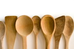 Wooden Spoons - a kitchen staple and workhorse. I reach for a wooden spoon almost as much as my chef's knife. Indispensable. I just buy basic ones from the grocery store, no need to go crazy.