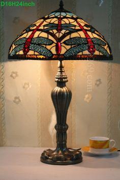 Dragonfly Tiffany Lamp  16S4-295T263