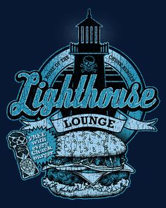Lighthouse Lounge T-Shirt $10 Goonies tee at ShirtPunch today only!