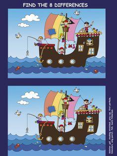 Game for children stock illustration. Pirate Activities, Halloween Activities For Kids, Educational Activities For Kids, Math For Kids, Book Activities, Games For Kids, Elderly Activities, Dementia Activities, Physical Activities