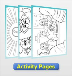 Free kids activity pages on the Catholic faith.