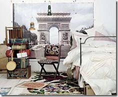 folding chairs with bohemian upholstrey