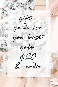 c1ee8a52da4d gift guide for your best gals  20 and under Christmas Gift Guide