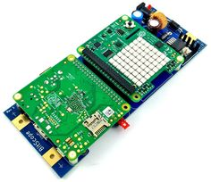 BitScope Blade 01, Uno Pi, Power & Mounting for Raspberry Pi & HAT (Pi & HAT not included).