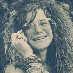 Janis Joplin.  One of the greatest white female rock singer of the 60's.
