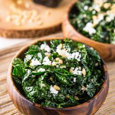Veggie and the Beast: Kale Salad