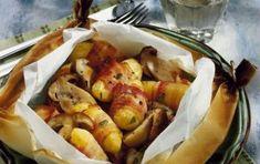 Rotolini di patate e speck - Un piatto gustoso e divertente da preparare, per stupire i vostri ospiti con delle patate diverse dal solito! Ottimo l'abbinamento con lo speck, ingrediente fondamentale per dare un gusto in più alla ricetta, da provare!
