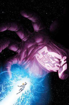 Franklin Richards v. Galactus by Frank Cho