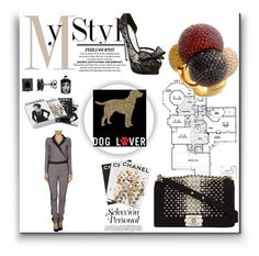 """""""My Style"""" by cristinerosa on Polyvore featuring Betsey Johnson, PTM Images, Chanel, Hôtel Particulier, Fornasetti and Assouline Publishing"""