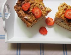 Strawberry and Banana Vegan Loaf or Muffins recipe.