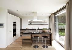 Modern kitchen by meier architekten Layout, Conference Room, Divider, Traditional, Contemporary, Table, Meier, Furniture, Interiordesign