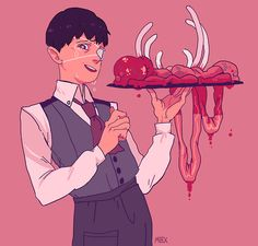 Tokyo Ghoul is amazing and I love cannibal Shinji