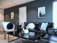 @funkis_nr_17 St Pauls Blue, Sofa, Couch, Furniture, Home Decor, Nye, Robin, Beauty, Pintura
