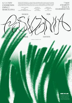Córdova Canillas - Design for Posidonia Art direction for a cause. Type Design, Book Design, Layout Design, Design Art, Web Design, Graphic Design Posters, Graphic Design Typography, Graphic Design Inspiration, Design Graphique