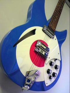 Paul Weller formally of the Jam, custom Rickenbacker...