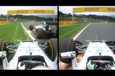 【動画】 ロズベルグとハミルトンの車載カメラ / F1オーストリアGP  [F1 / Formula 1]