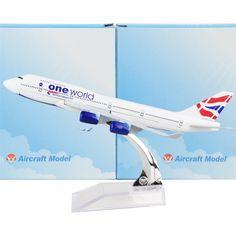 1:400 British Airways Boeing 747- 400
