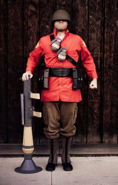 Best Soldier class cosplay ever. | Greg Peltz