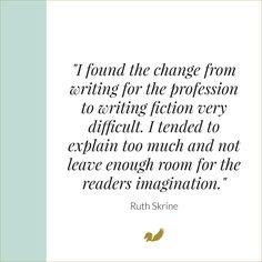 Ruth Skrine - Author Life