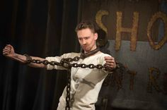 Tom Hiddleston. <----I got so excited when I saw this that I had to put down my bowl of cereal and DEAL WITH IT.