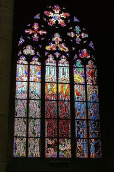 ☆ Prague: Stained Glass in St. Vitas :¦: By njk1951 ☆