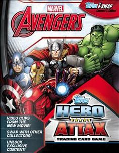 Marvel Avengers Hero Attax Series 4 2015
