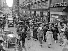 Bourke Street, 1920s.