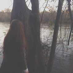 This is me at a river near my friends house