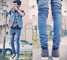 A Killer Shoes (by Mohcine Aoki) http://lookbook.nu/look/3884564-A-Killer-Shoes