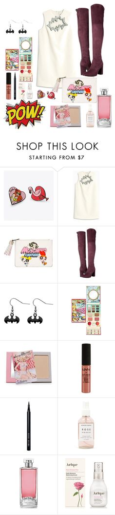 """""""poww"""" by uvhaa ❤ liked on Polyvore featuring Punky Pins, Christopher Kane, Moschino, GUESS, Forever 21, Bobbi Brown Cosmetics, Herbivore, Guerlain and Jurlique"""
