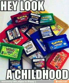 Any pokemon game, including pokemon channel and the pokemon colloseum games. Pokemon was my childhood, and will be a game I play throughout my entire life Pokemon Gif, Pokemon Funny, Pokemon Memes, Pokemon Stuff, Pokemon Comics, Pika Pokemon, Pokemon Alpha, Gameboy Pokemon, Pokemon Eeveelutions