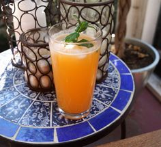 Cantaloupe Agua Fresca with Honey and Mint | 11 Refreshing Fruit Infused Water Recipes for a Healthier You  Try our other recipes as well at www.cookinglessons.com