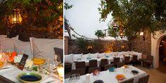 Romantic dinner in St Tropez