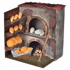 Resultado de imagen para panaderias+belenes Miniature Rooms, Miniature Crafts, Miniature Houses, Miniature Furniture, Fairy Furniture, Doll Furniture, Dollhouse Furniture, Christmas Nativity Scene, Christmas Diy