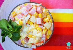Excelente Ensalada Tropical de Piña - Practicable Aprende a preparar ensalada de piña trop. Food Porn, Good Food, Yummy Food, Cooking Recipes, Healthy Recipes, Salad Recipes, Easy Meals, Food And Drink, Tasty