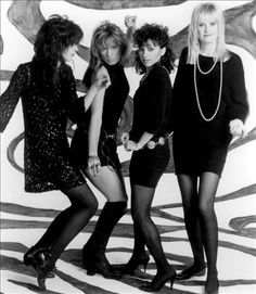 See The Bangles pictures, photo shoots, and listen online to the latest music. Music Pics, Music Photo, Music Stuff, The Bangles Band, Michael Steele, Heavy Metal Girl, Pantyhosed Legs, Women Of Rock, Pop Rock Bands