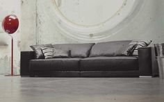 Budapest Baxter Sofa Large Sofa, Sofa Bed, Couch, Seat Cushions, Paola  Navone