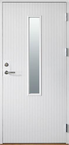 Ytterdörr Arild 115S G08 White Doors, Exterior Doors, Mirror, Inspiration, Furniture, Home Decor, Houses, Blog, Handmade