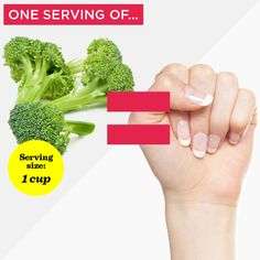 Need a lesson in portion control that doesn't include measuring cups, scales, and spoons? Use these conventional items to estimate a portion that best resembles the food label's official serving size. Health And Wellness, Health And Beauty, Women's Health, Perfect Portions, Womens Health Magazine, Portion Sizes, Healthy Groceries, Raw Vegetables, Thing 1